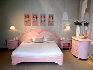 chambre a coucher rose