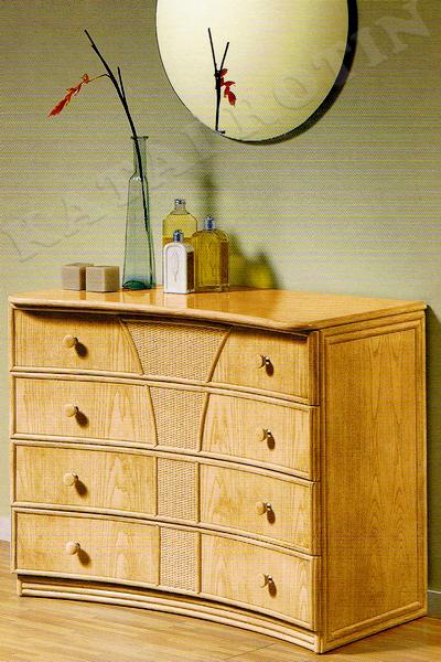 chambre coucher paris mobilier complet en rotin. Black Bedroom Furniture Sets. Home Design Ideas